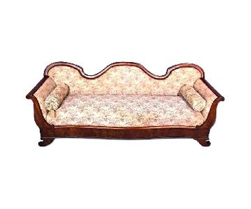 19th Century Antique American Victorian Sofa