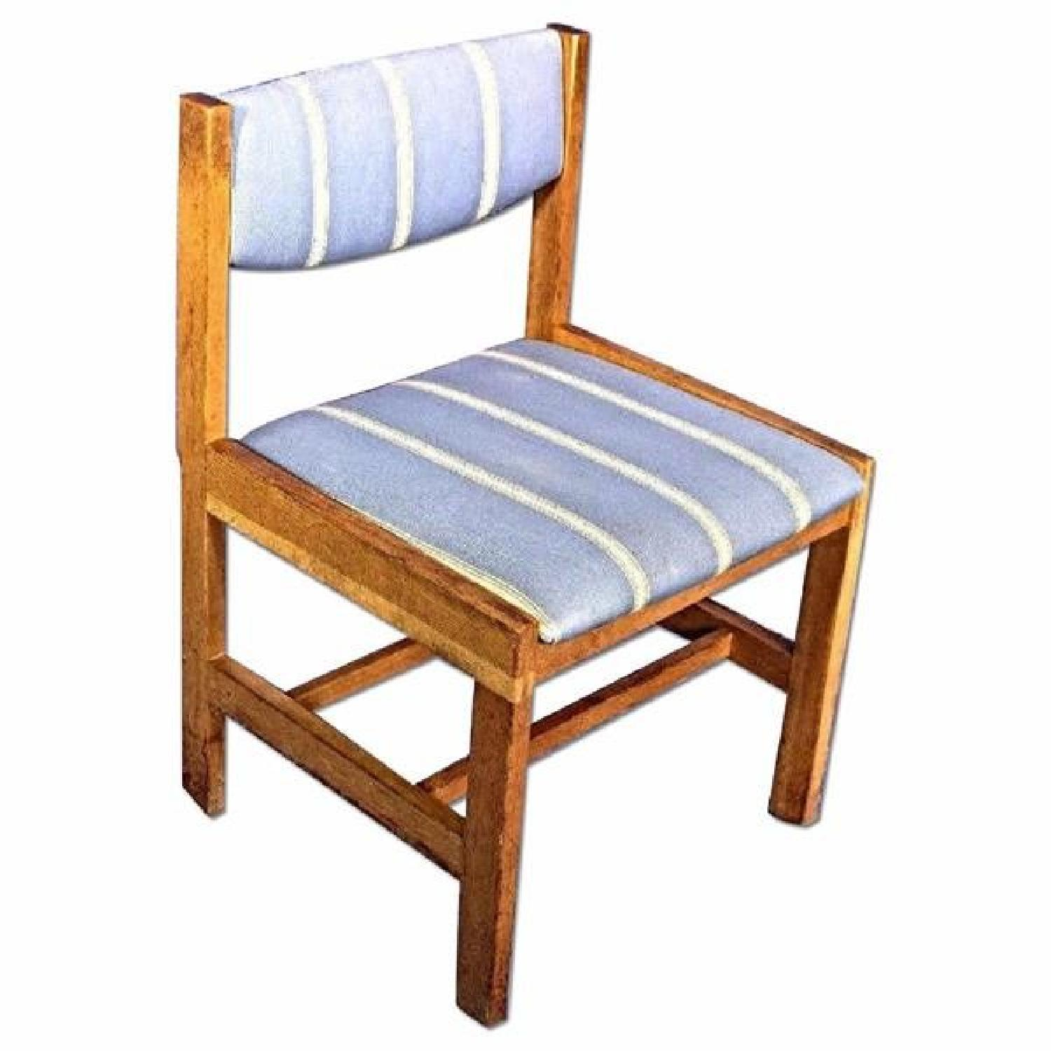 Solid Oak Dining Side Chair