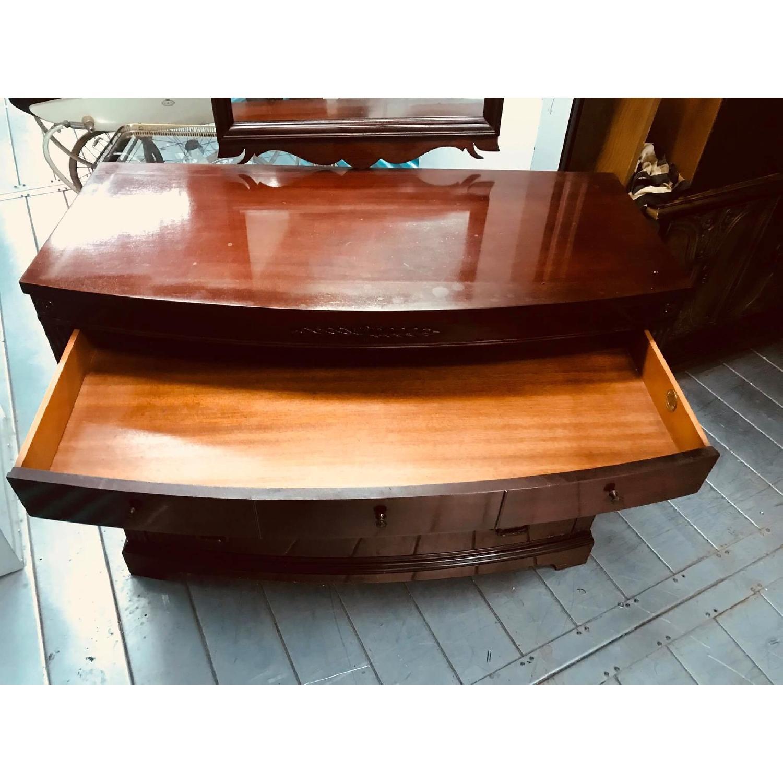 Antique 1930s Huntley Furniture Mahogany Dresser w AptDeco