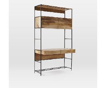 West Elm Industrial Storage Modular System/ Desk