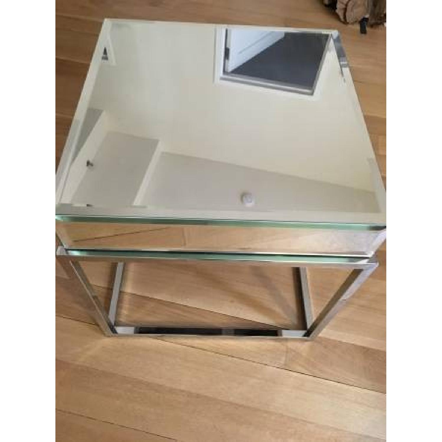 Overstock Mirrored Coffee Table - image-1