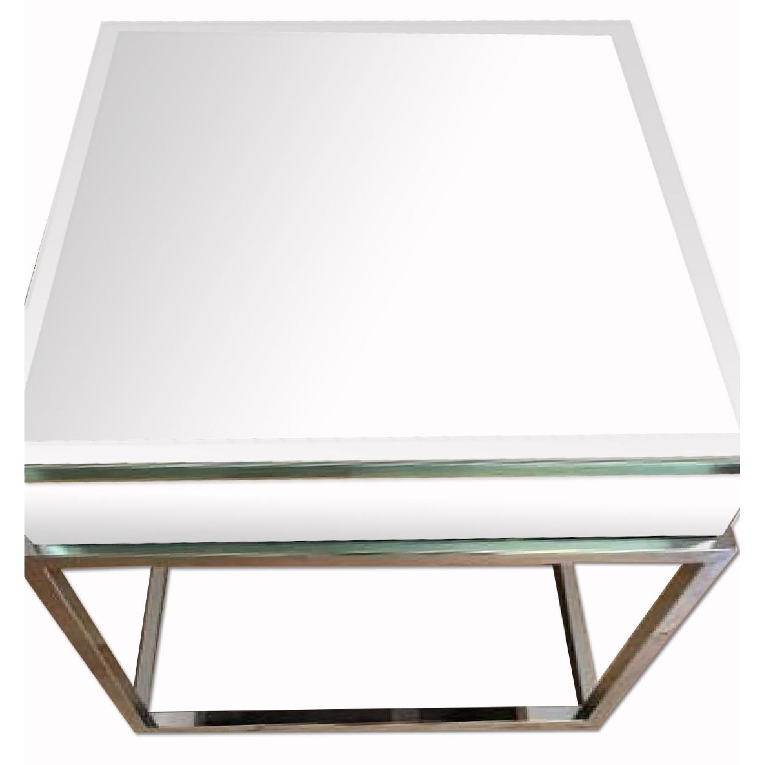 Overstock Mirrored Coffee Table - image-0