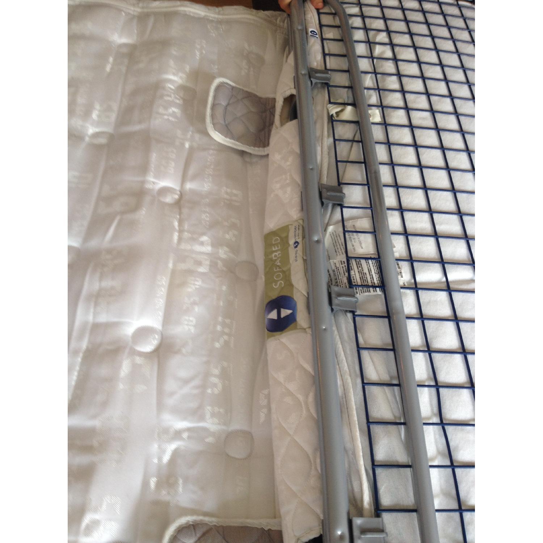 Brevetti Stema Leather Sofa Bed - image-2