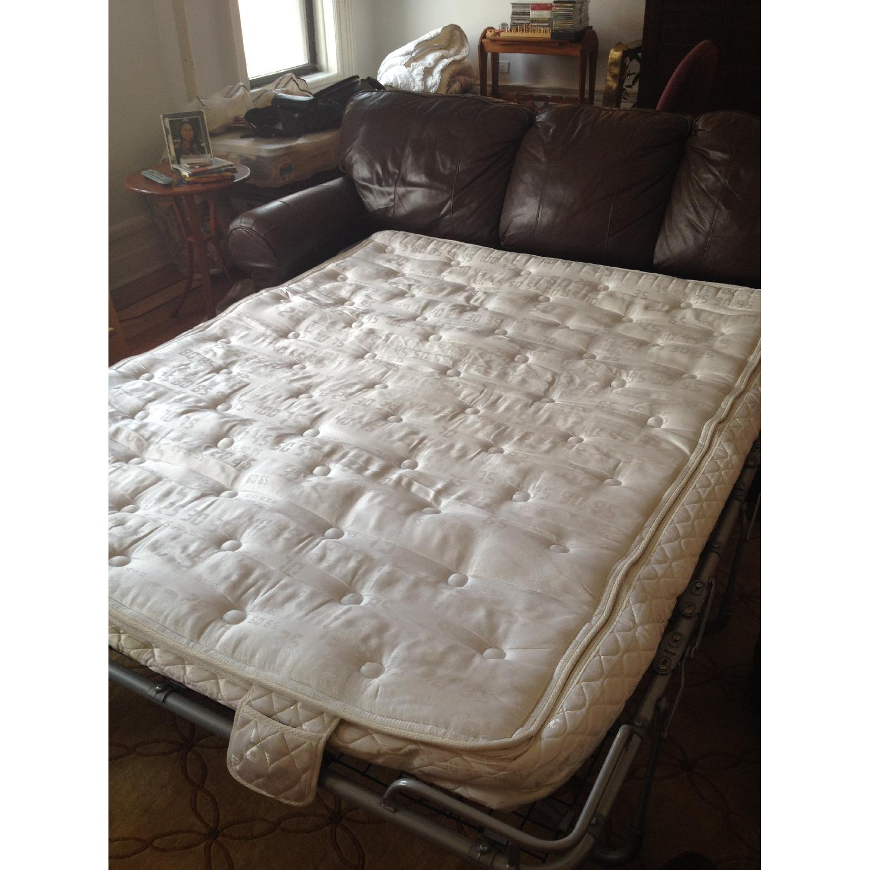 Brevetti Stema Leather Sofa Bed - image-3