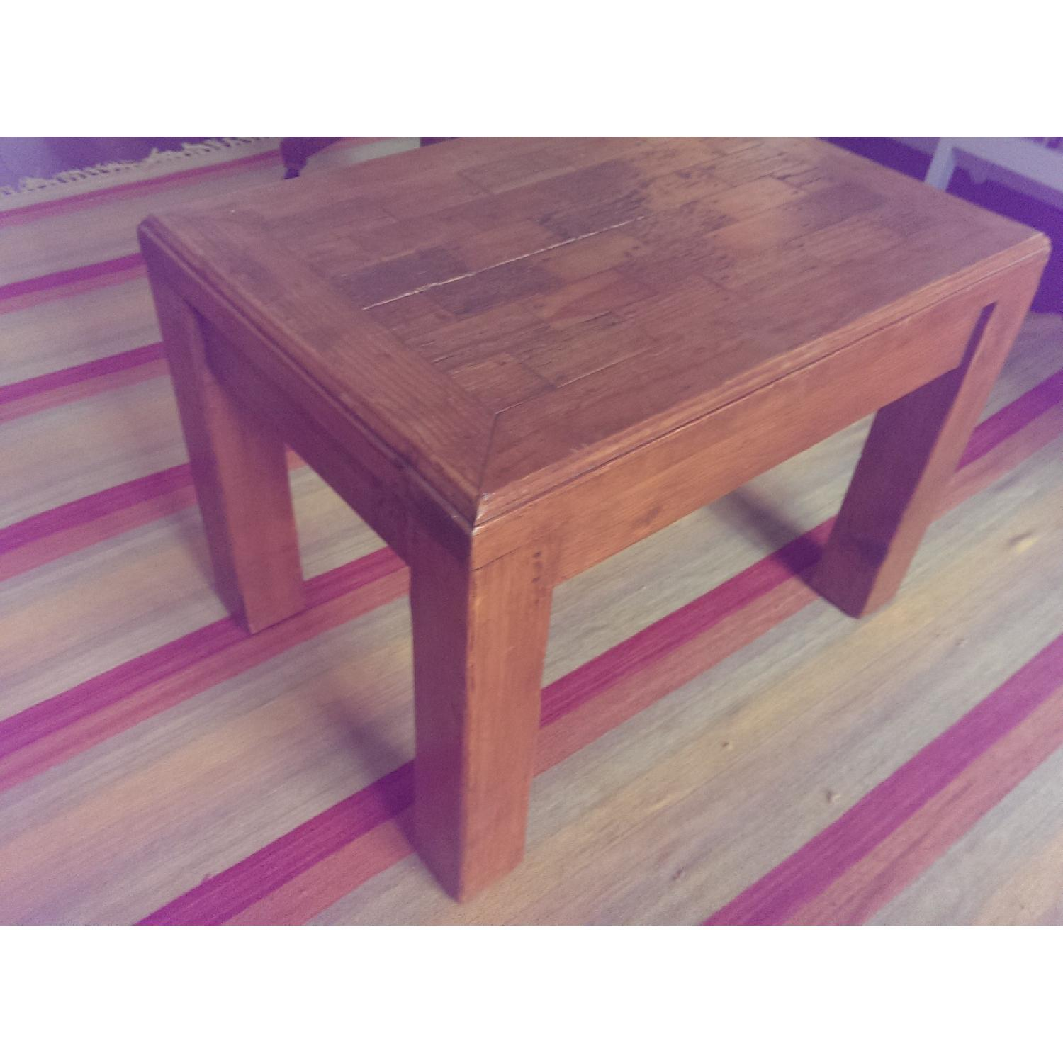 Mexican Pine Side Table - image-1