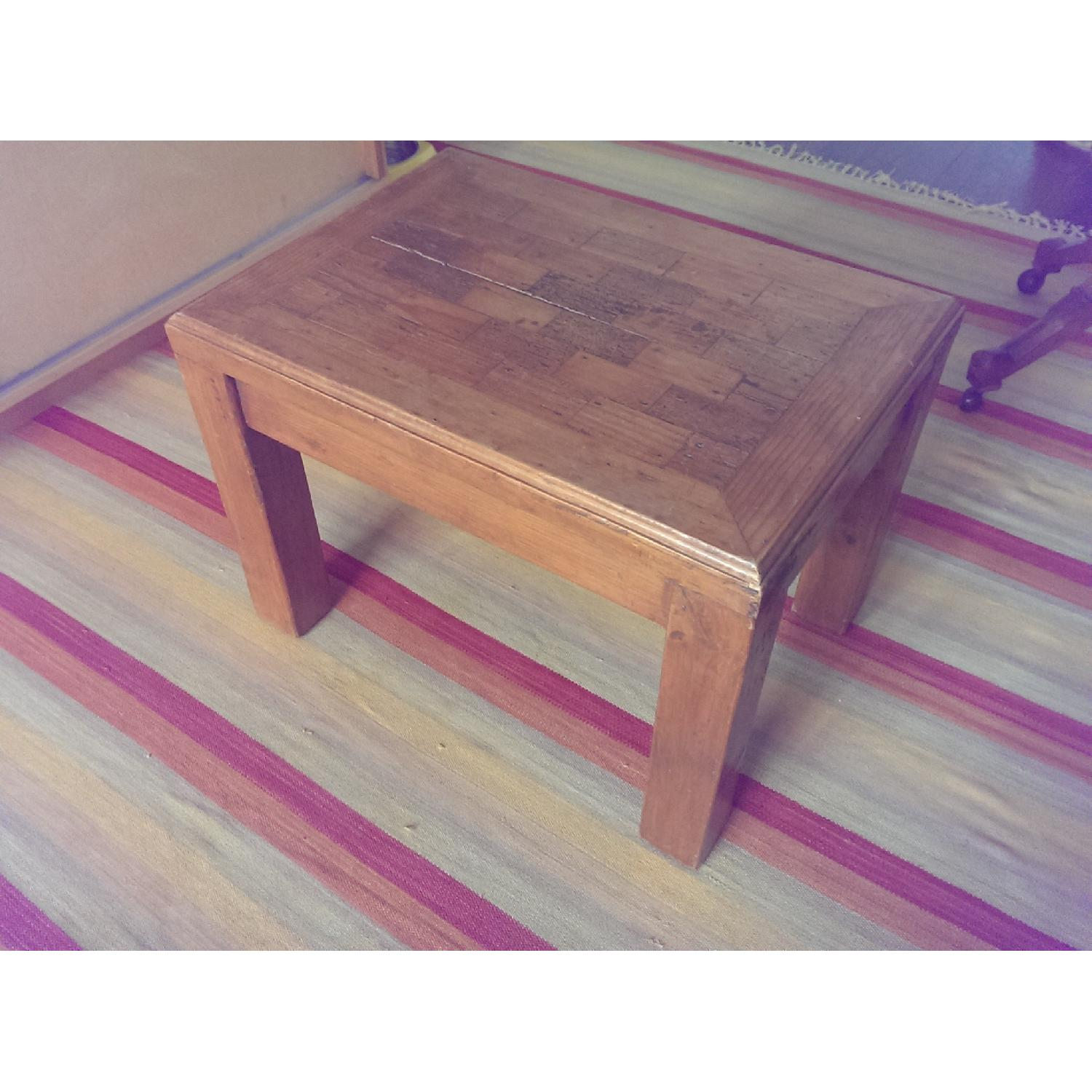 Mexican Pine Side Table - image-2