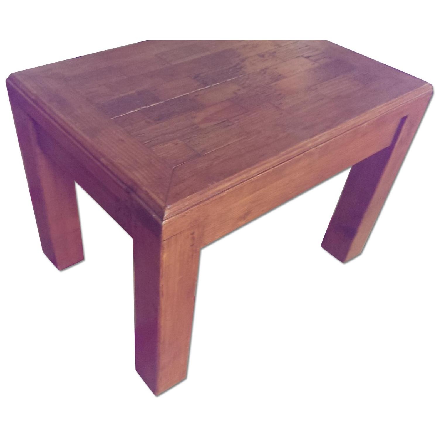 Mexican Pine Side Table - image-0