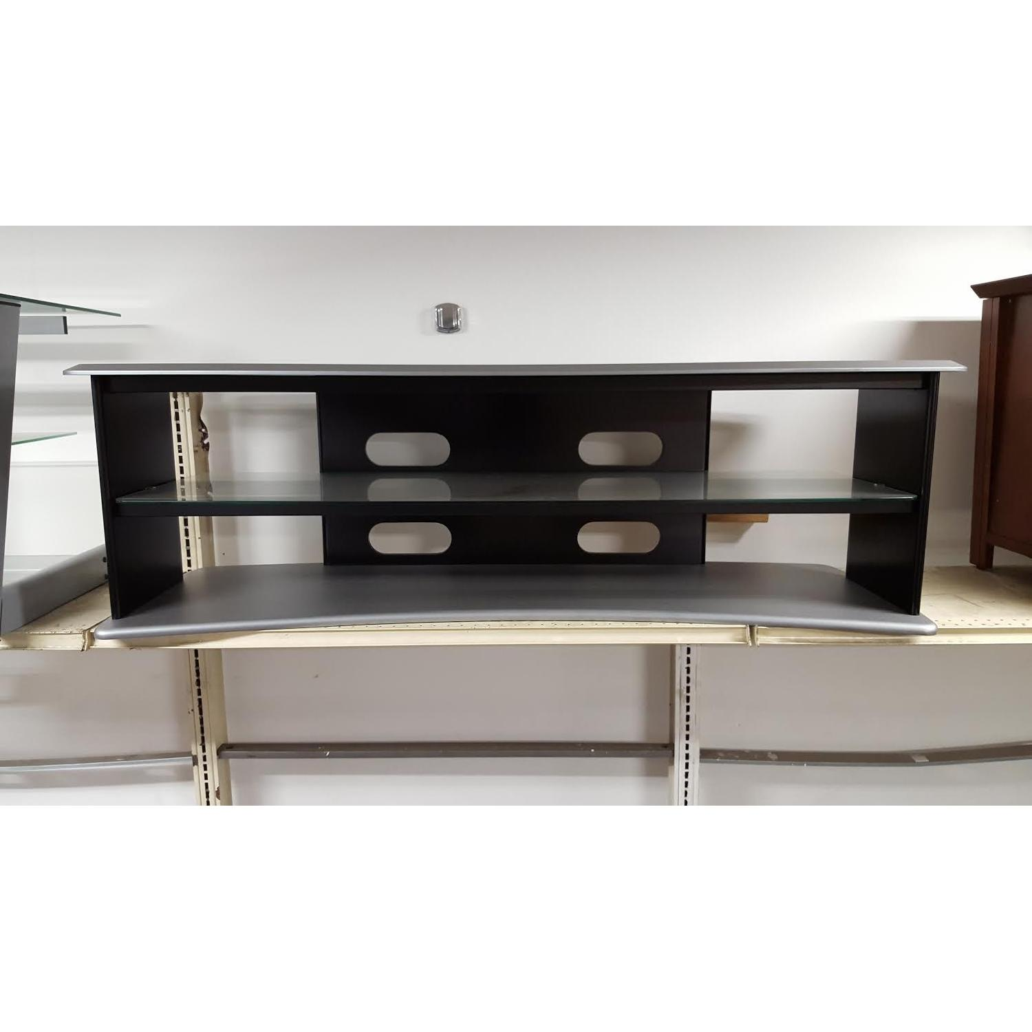 Black & Silver TV Stand - image-3