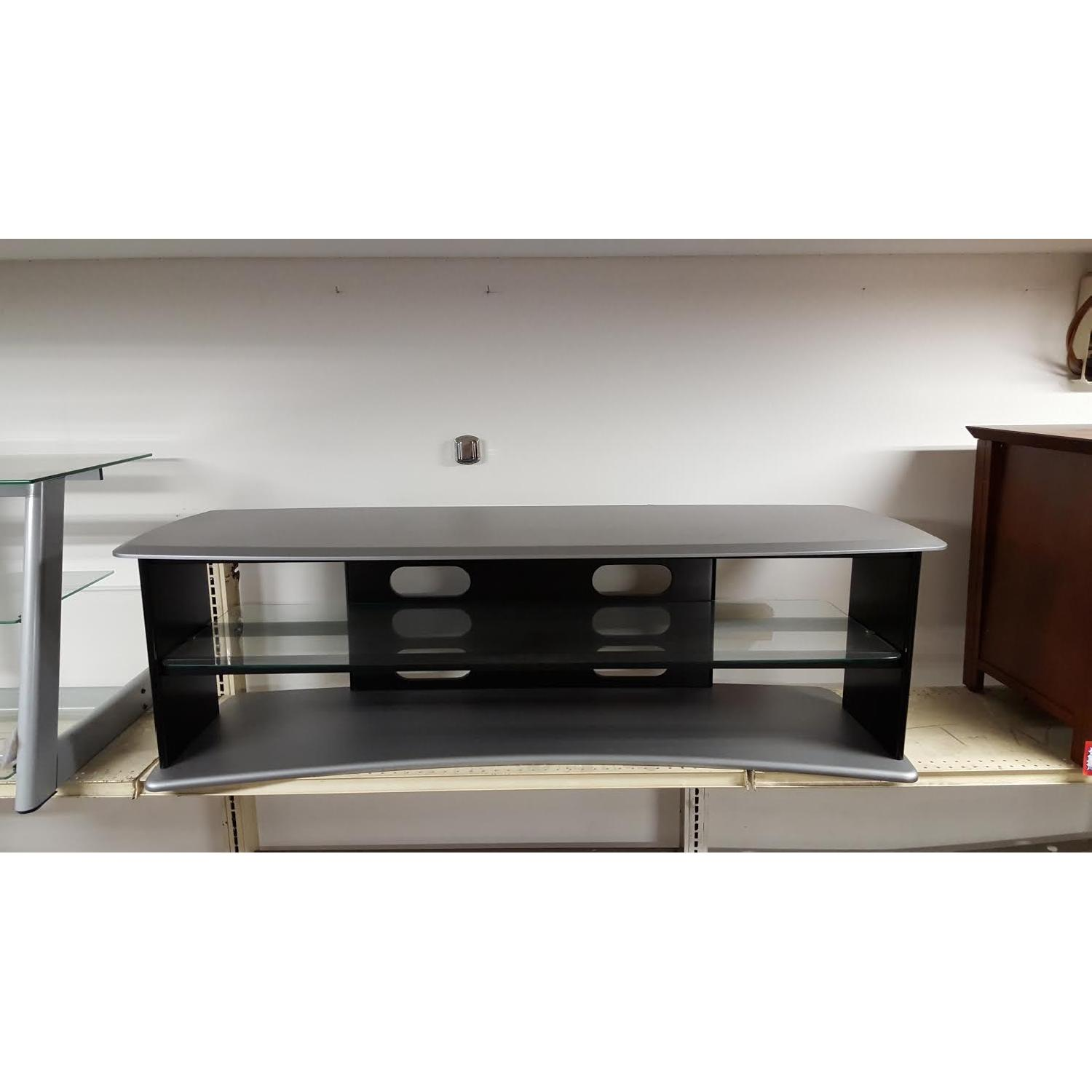 Black & Silver TV Stand - image-4