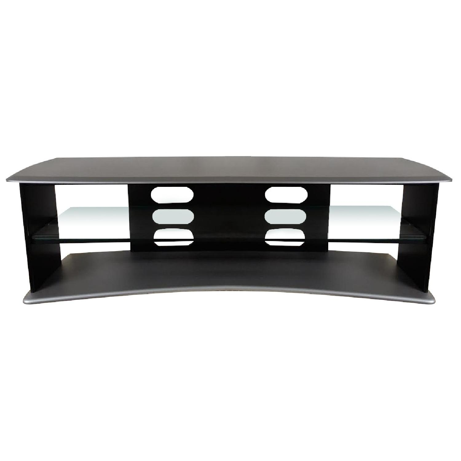 Black & Silver TV Stand - image-0
