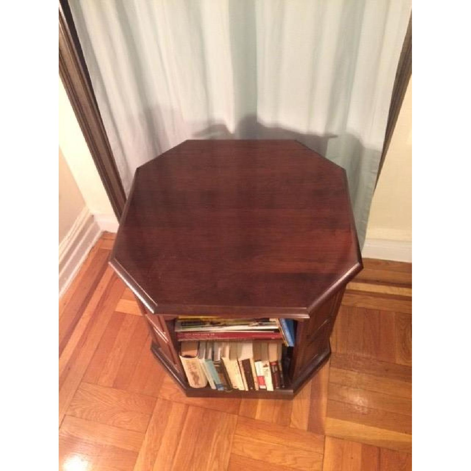 Mahogany-Stained Bookcase/End table - image-10