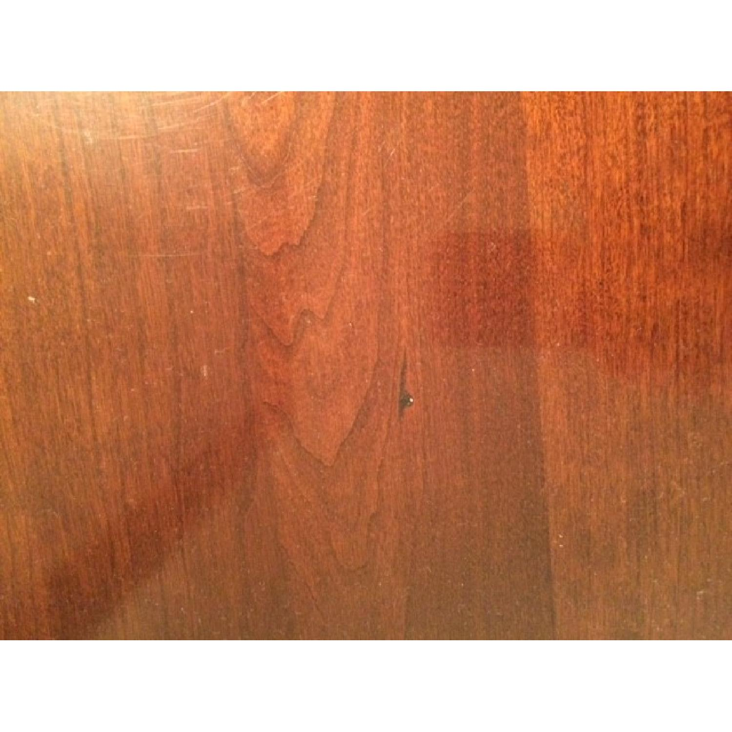 Mahogany-Stained Bookcase/End table - image-11