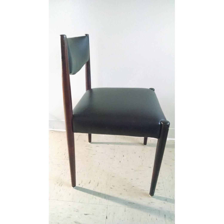 Danish Style Chairs - Set of 4 - image-1