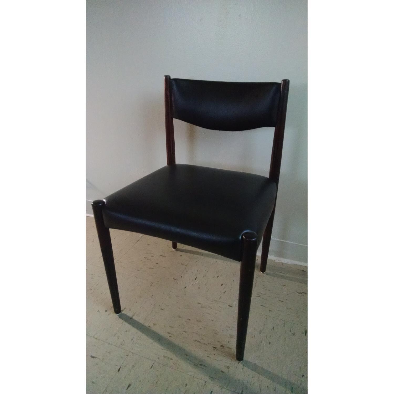 Danish Style Chairs - Set of 4 - image-4