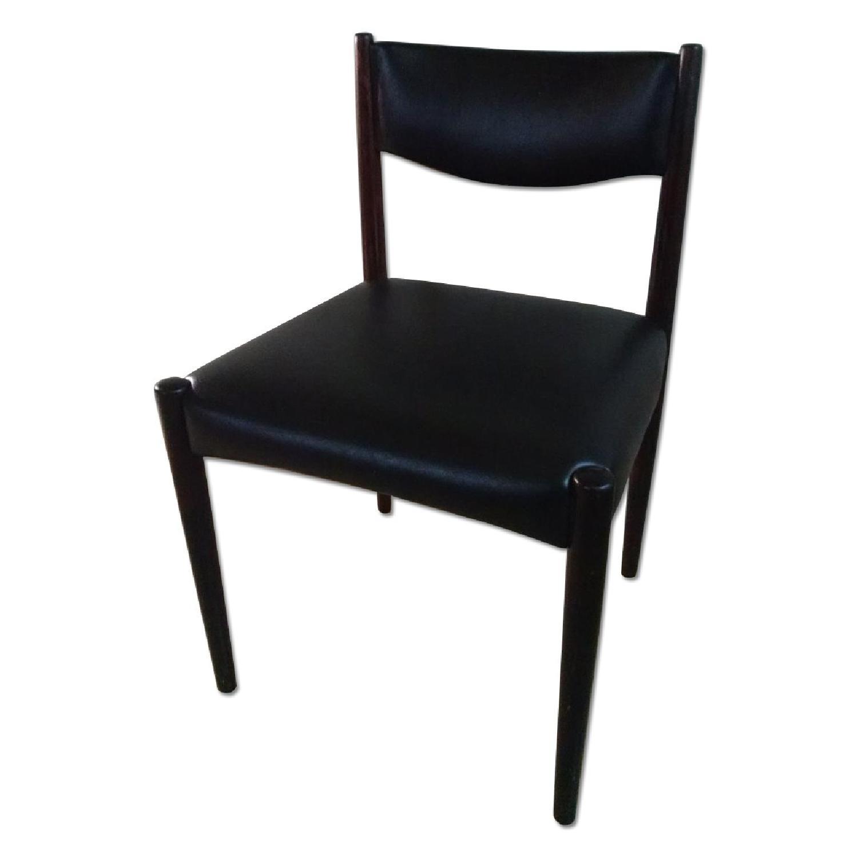 Danish Style Chairs - Set of 4 - image-0