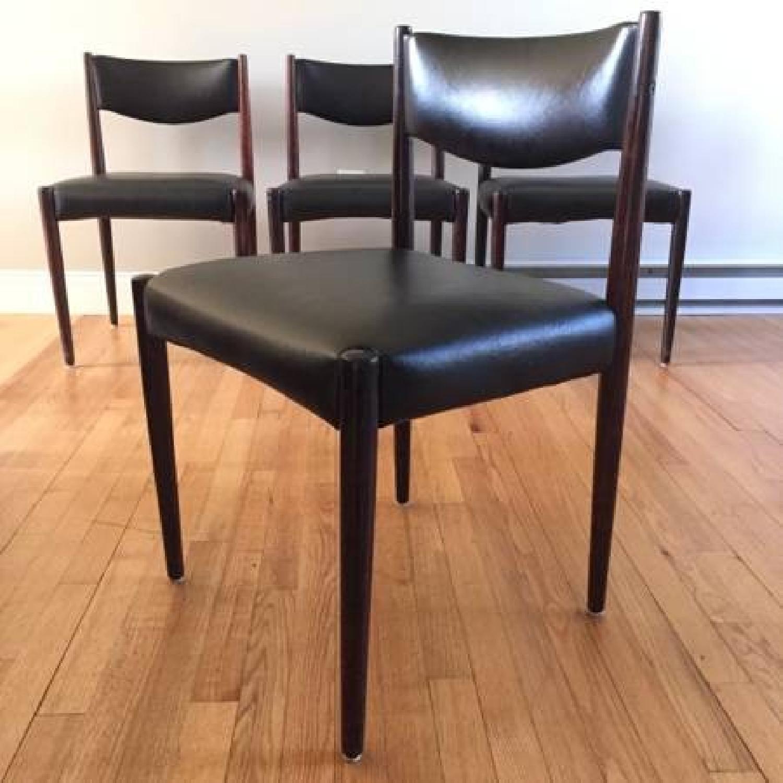 Danish Style Chairs - Set of 4 - image-9