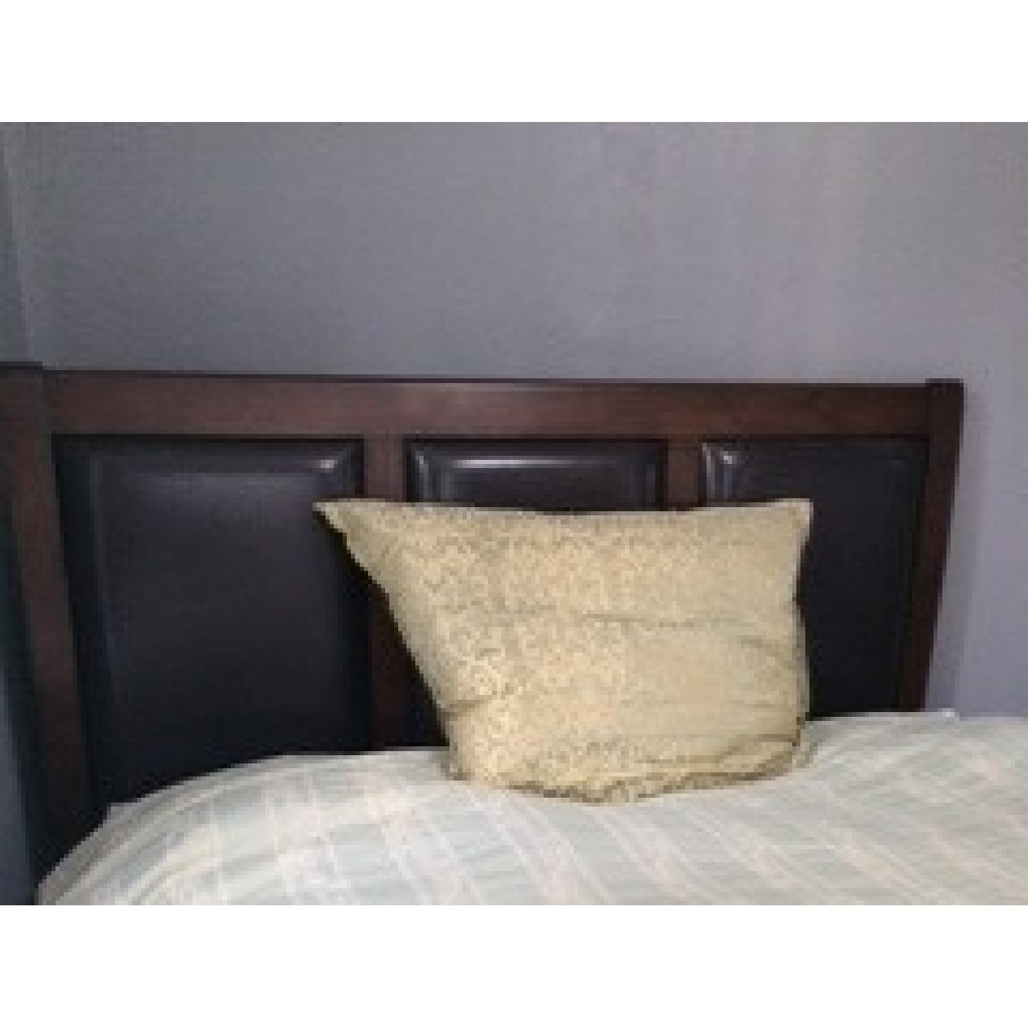 Bob's Queen Size Bed + Dresser w/ Mirror - image-1