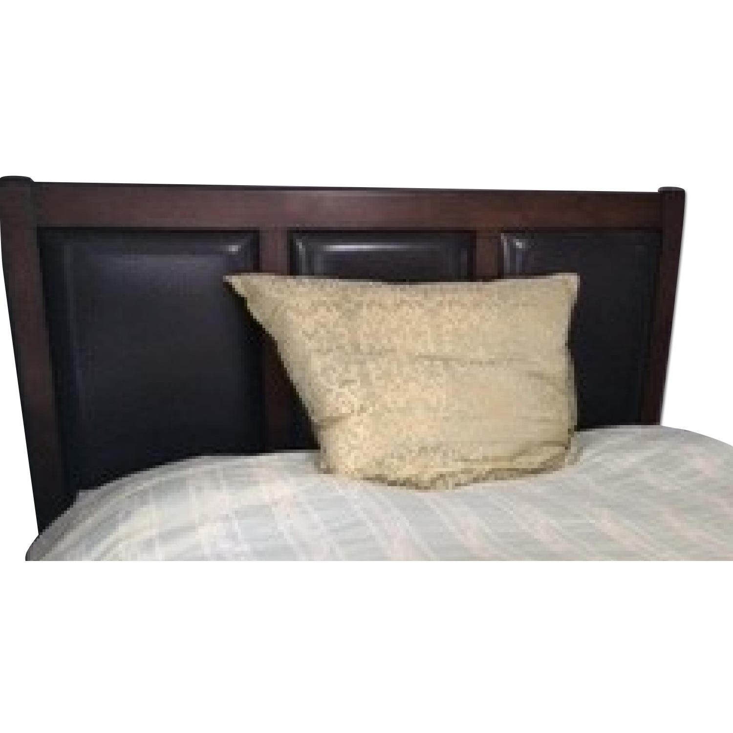 Bob's Queen Size Bed + Dresser w/ Mirror - image-0