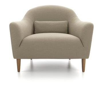 Crate & Barrel Pennie Chair in Linen