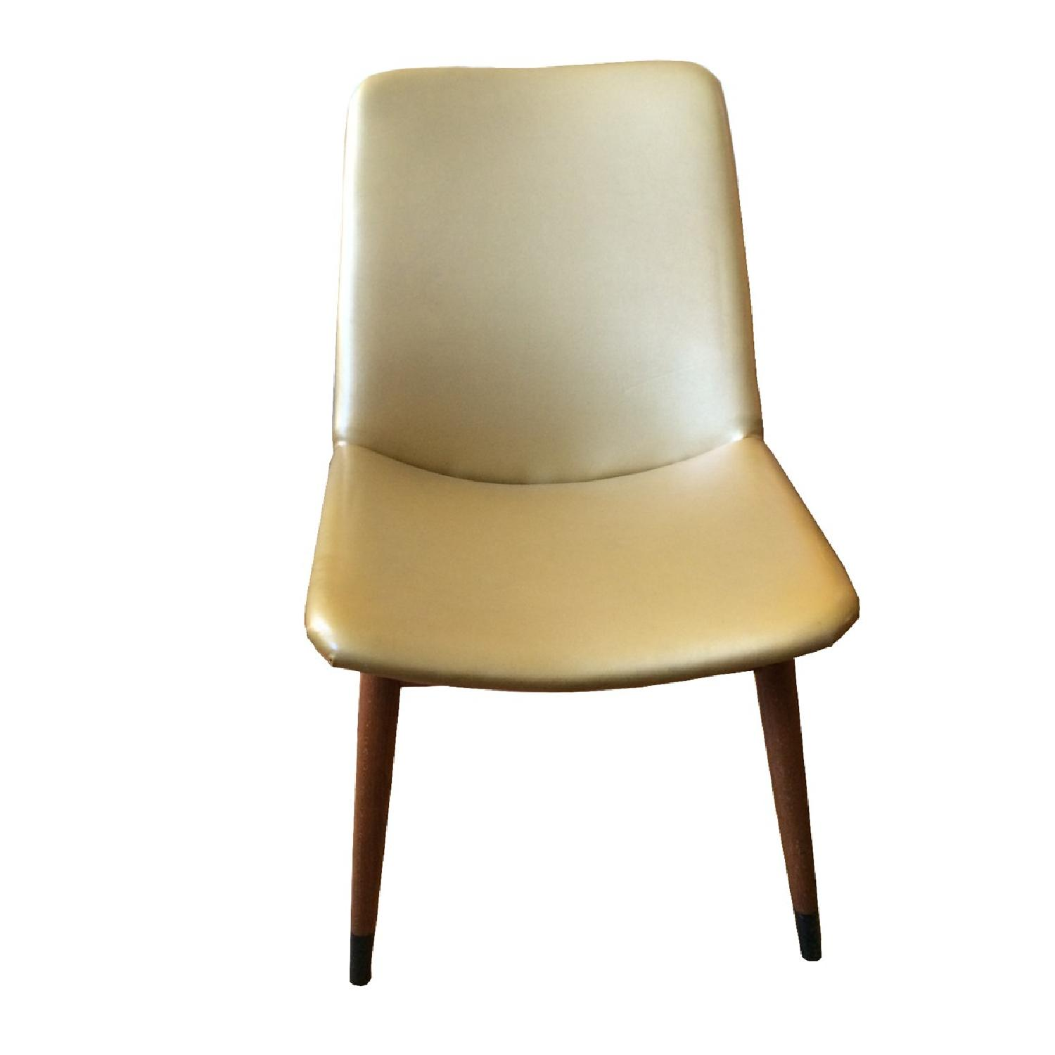 Mid Century Vintage Gold Chair - image-1