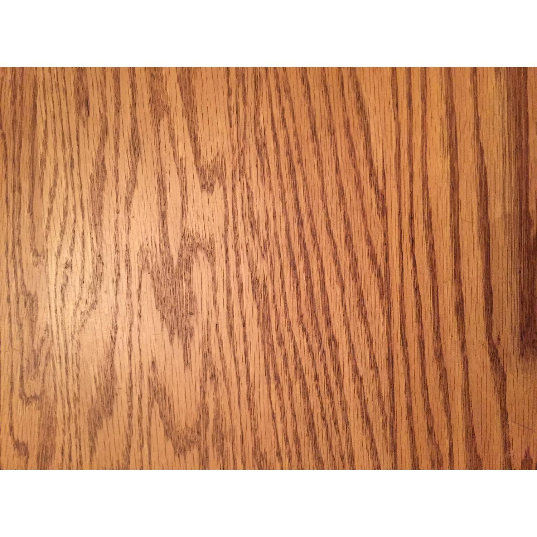 Nostalgic Oak Country Style 8 Piece Dining Room Set - image-6