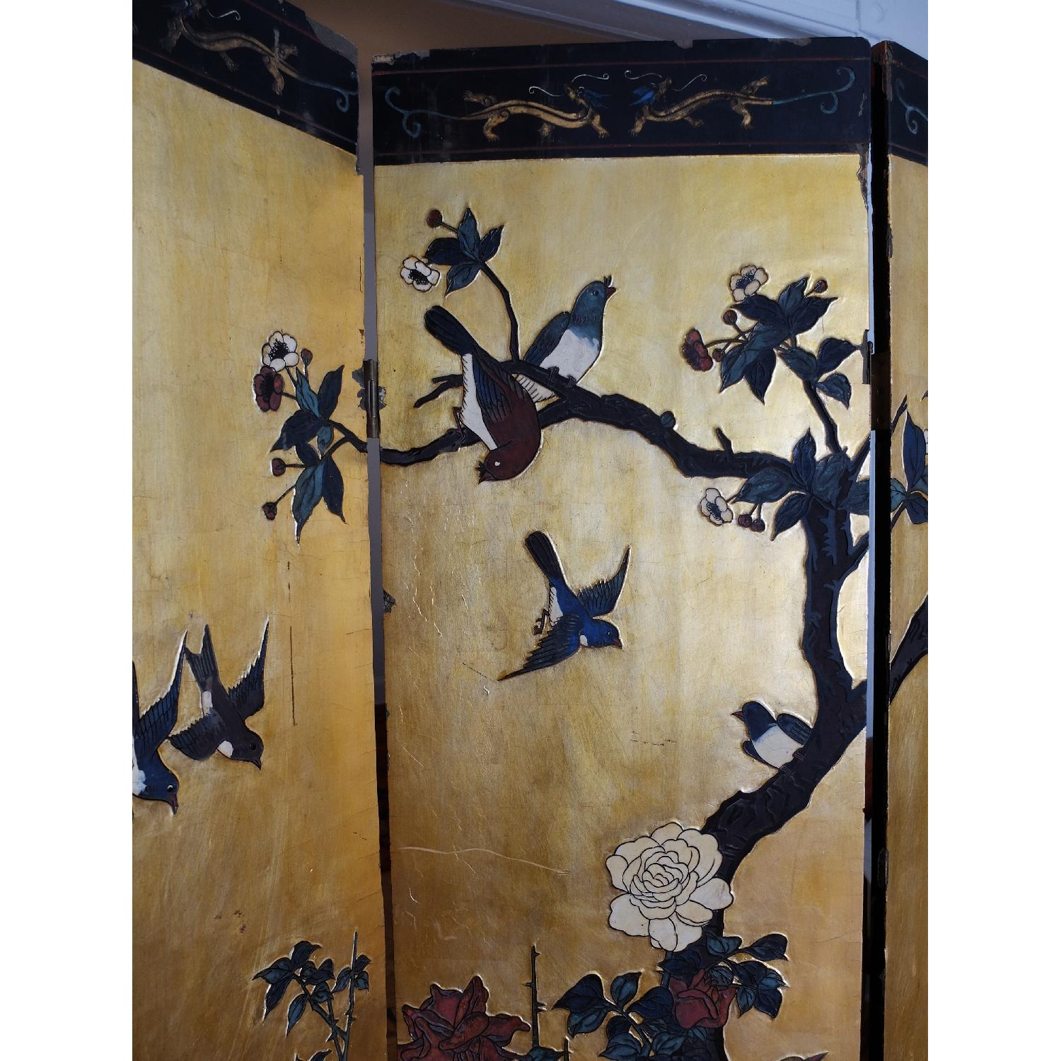 Antique Chinese Screen - image-3