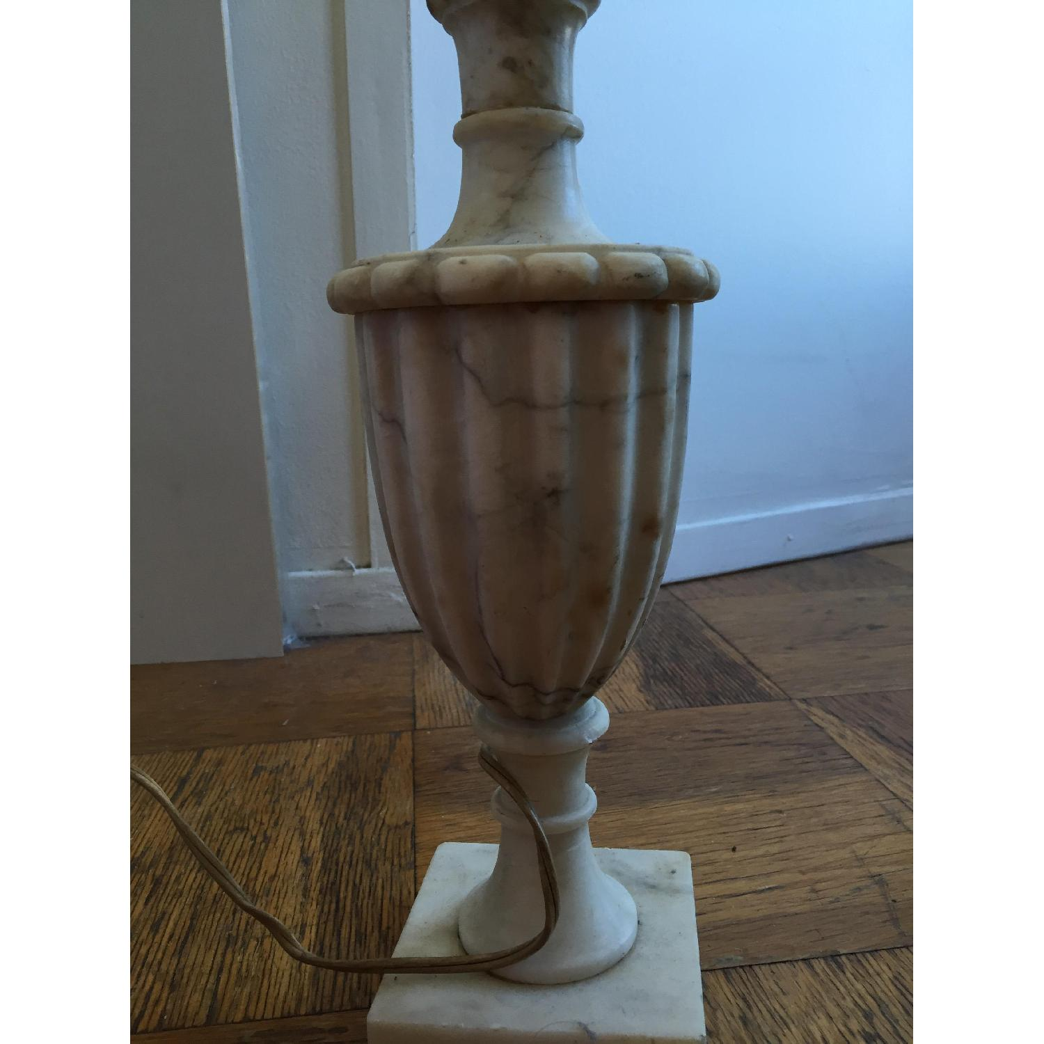Classic Marble Table Lamp - image-1