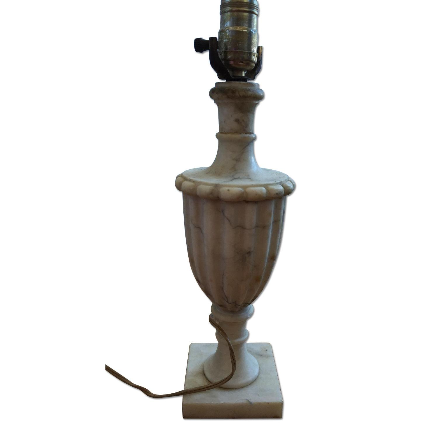 Classic Marble Table Lamp - image-0