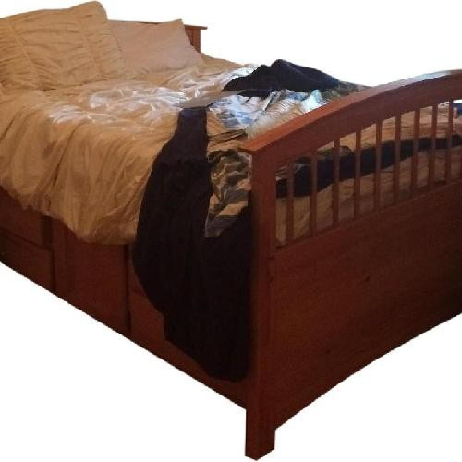 Bob's Full Size Bed Frame with Storage - image-0
