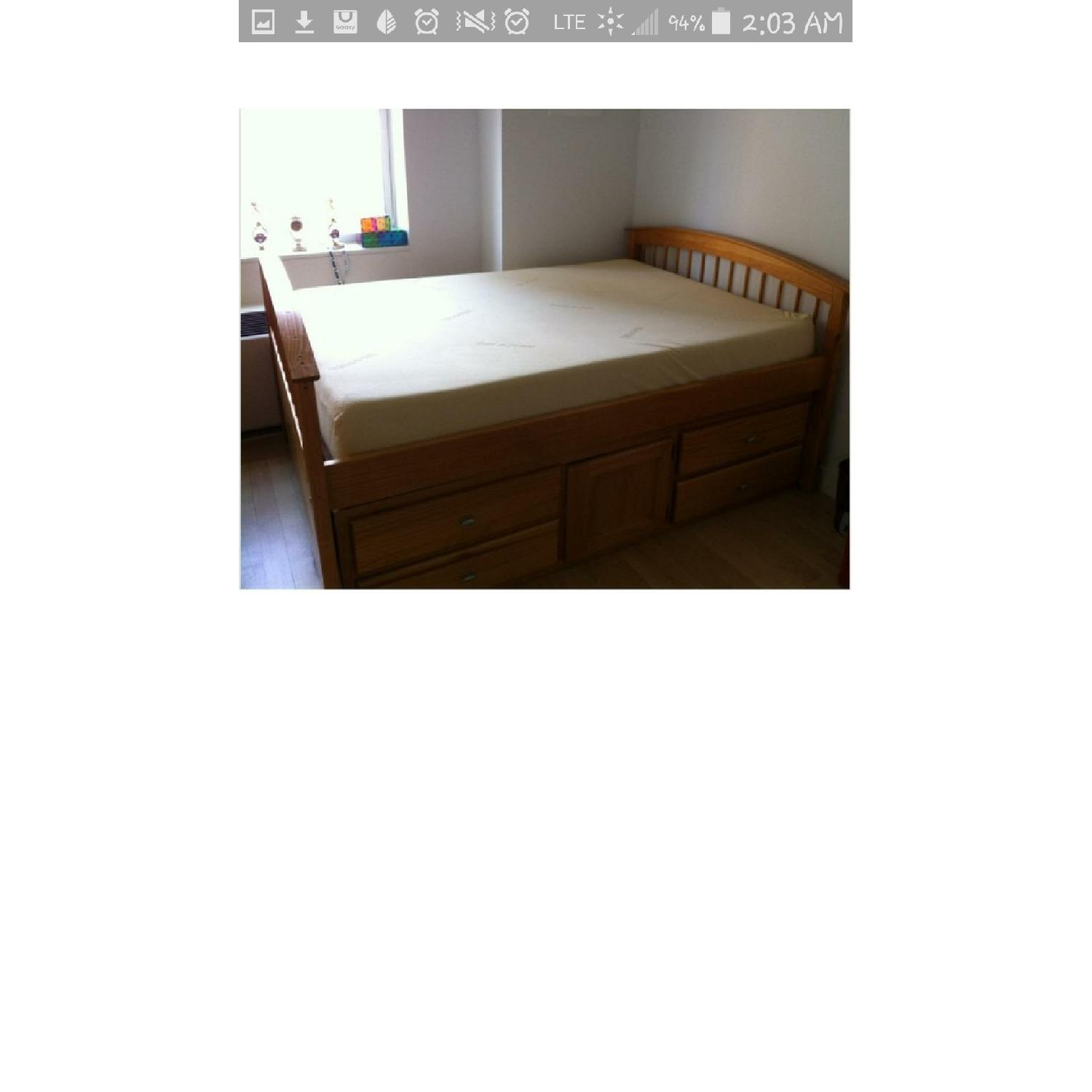 Bob's Full Size Bed Frame with Storage - image-3