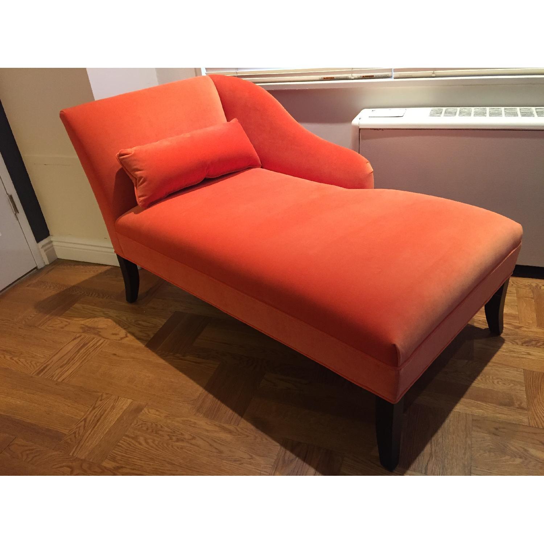 Mitchell Gold + Bob Williams Orange Emma Chaise Lounge - image-2