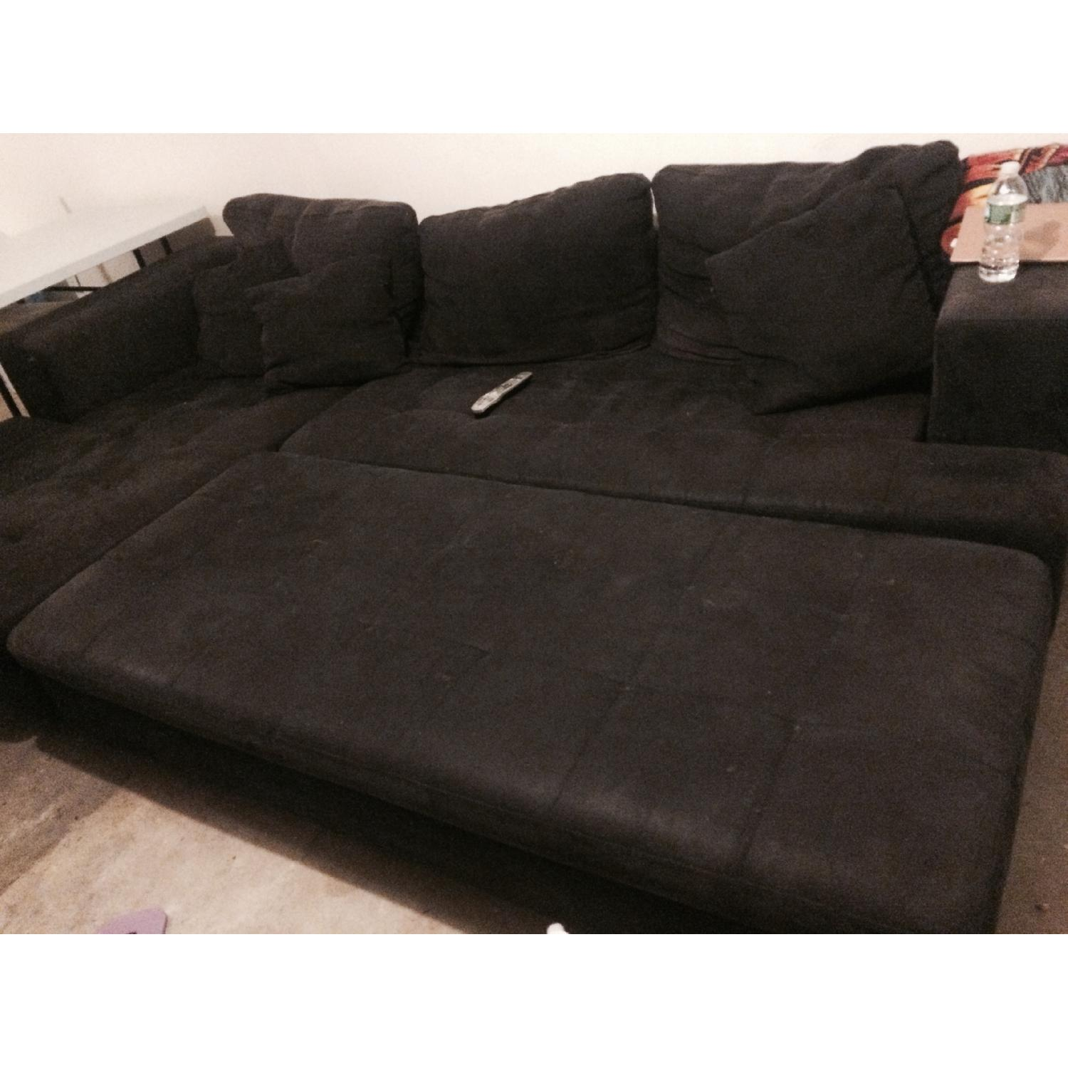 Eurway Microfiber Sectional - image-3