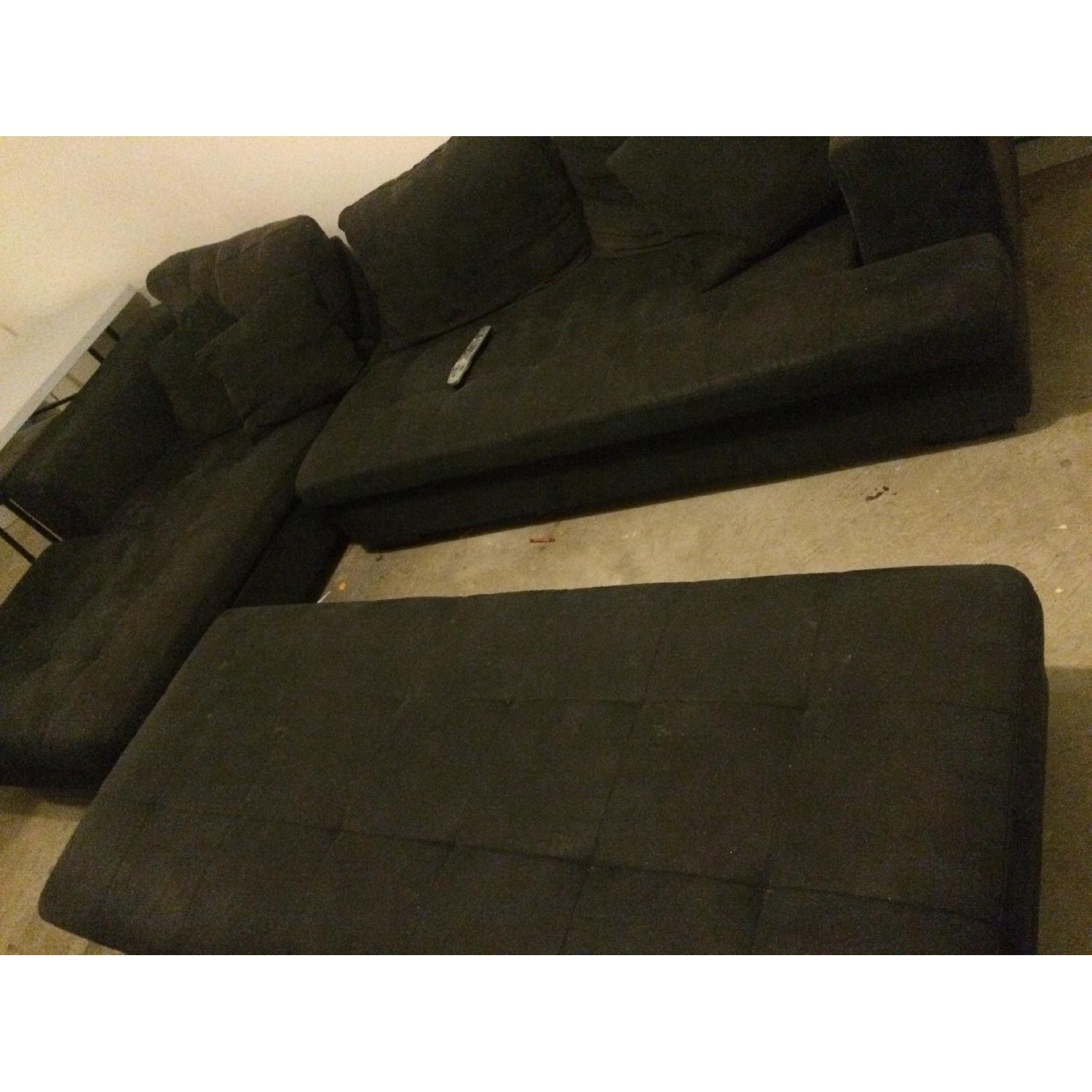 Eurway Microfiber Sectional - image-4