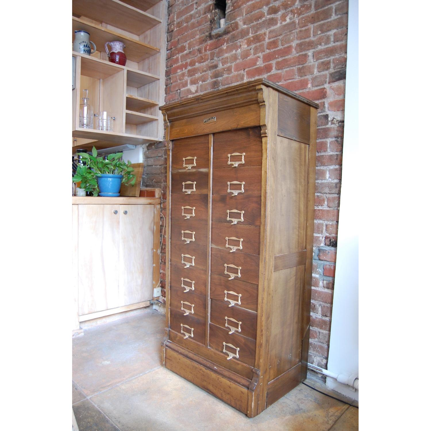 F. Wesel Manufacturing Company Tall File Cabinet - image-4