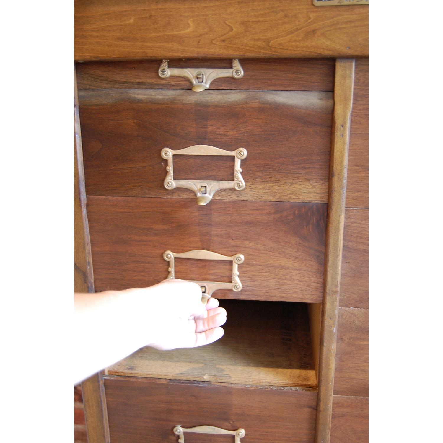 F. Wesel Manufacturing Company Tall File Cabinet - image-5