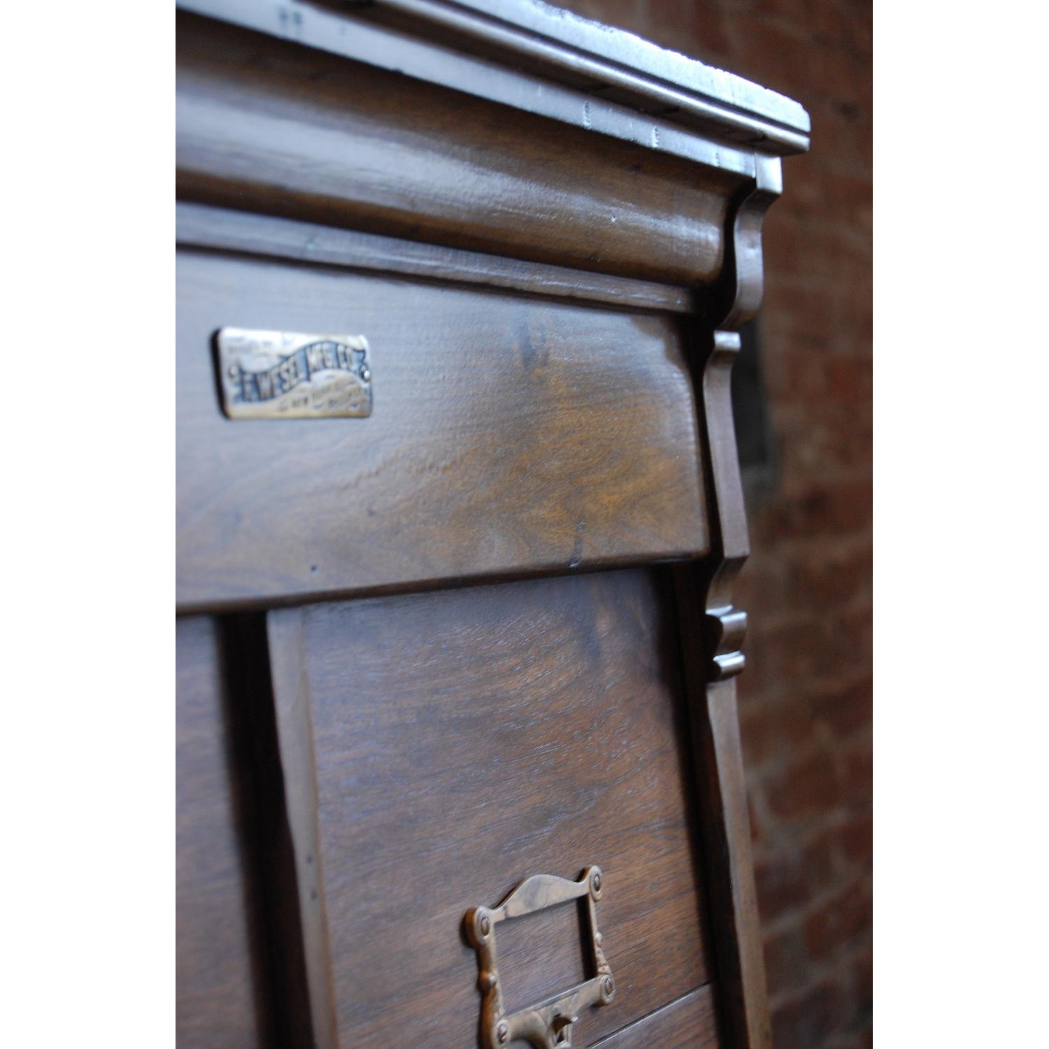 F. Wesel Manufacturing Company Tall File Cabinet - image-7