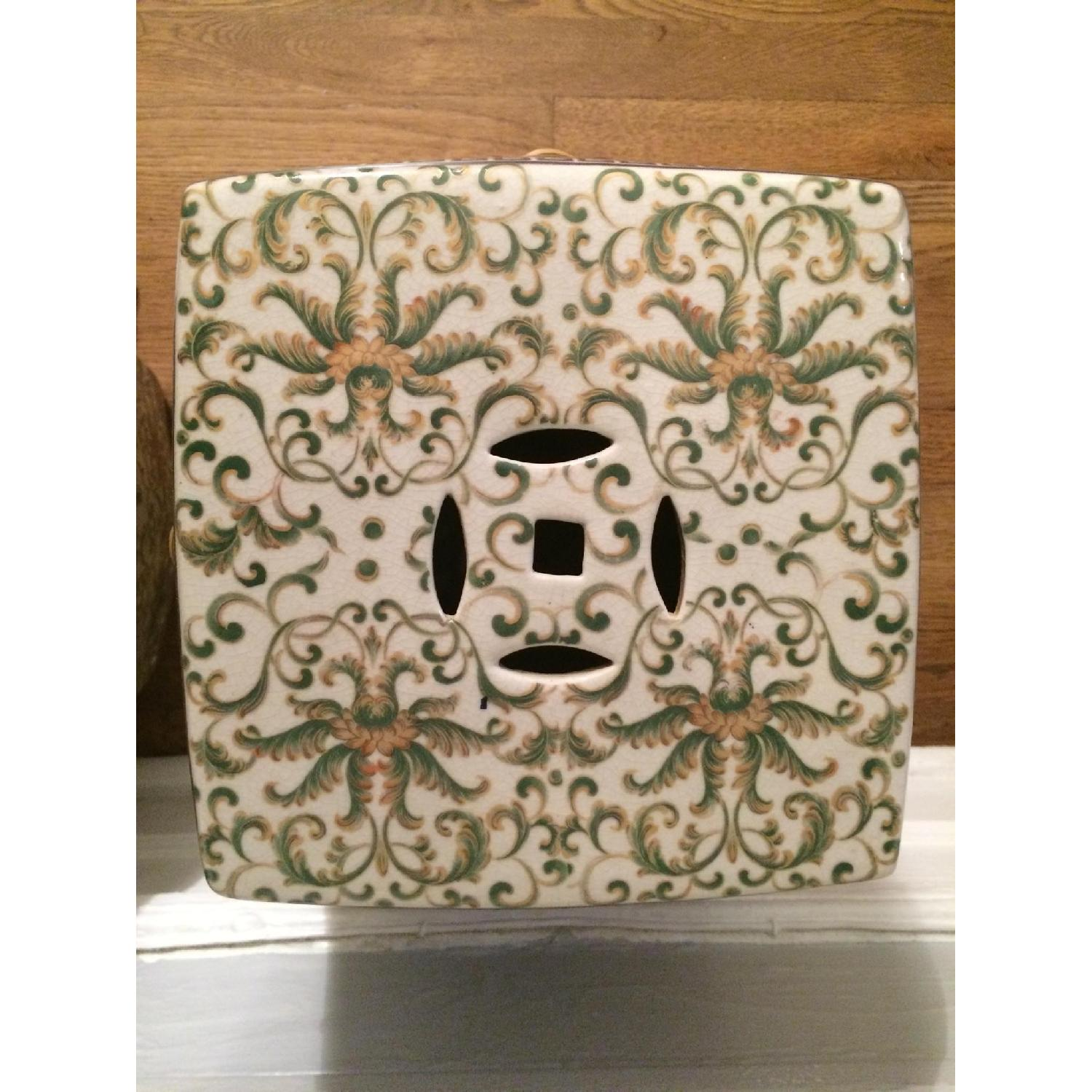 One King's Lane Ceramic Chinese Garden Seats - 2 Available - image-3