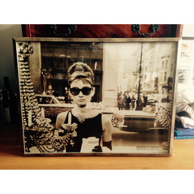 Iconic Framed Audrey Hepburn Print - image-4