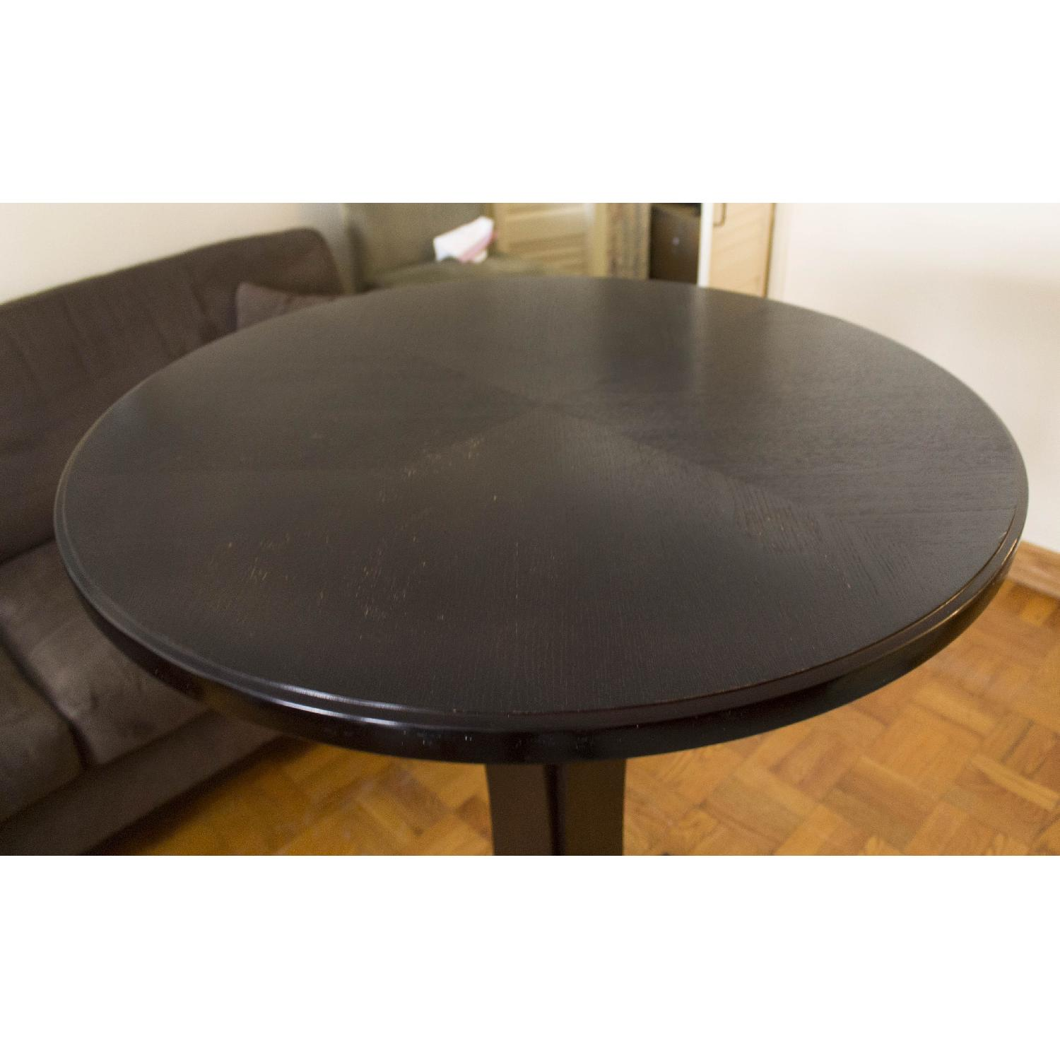 Crate & Barrel High Cafe Table - image-2