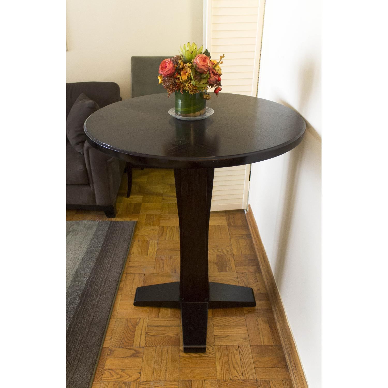 Crate & Barrel High Cafe Table - image-3