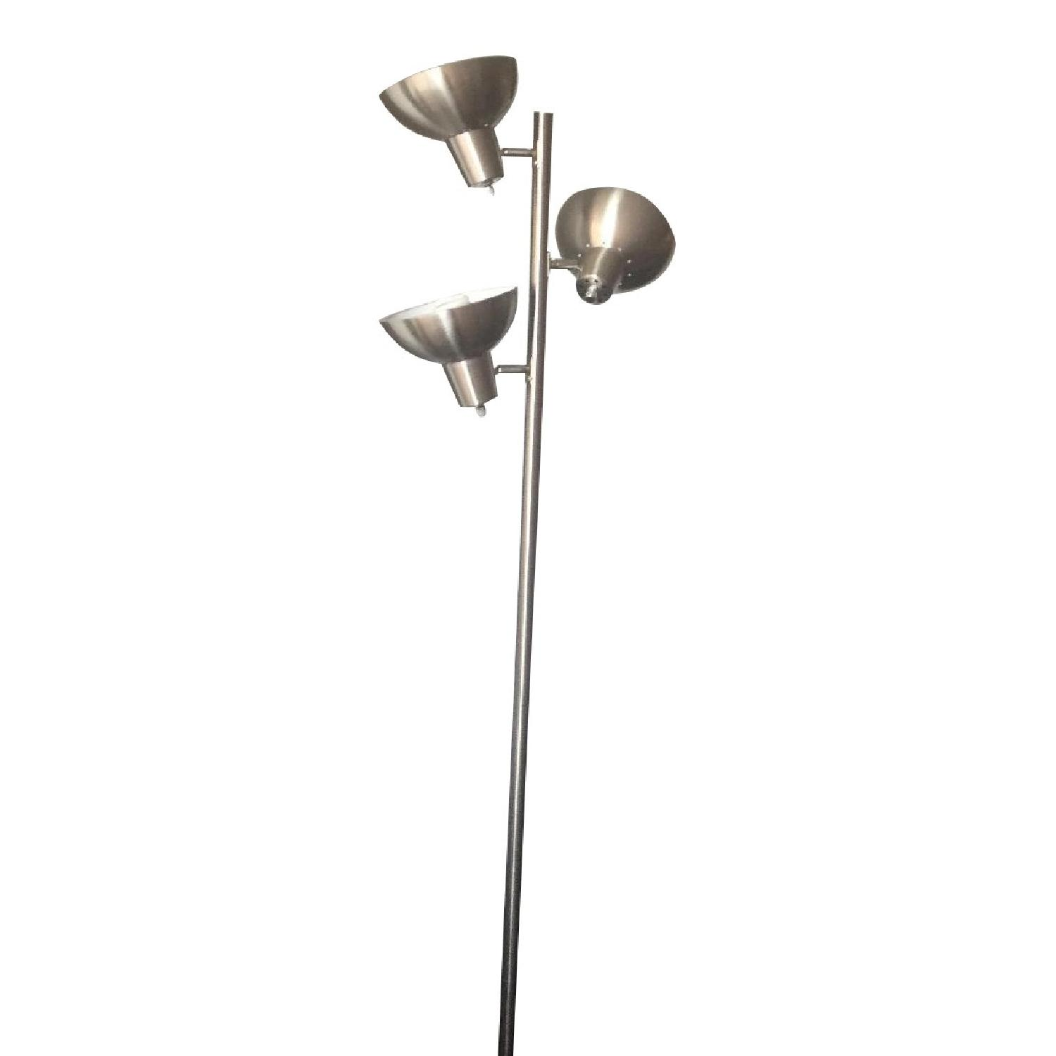 Chrome Floor Lamp - image-0