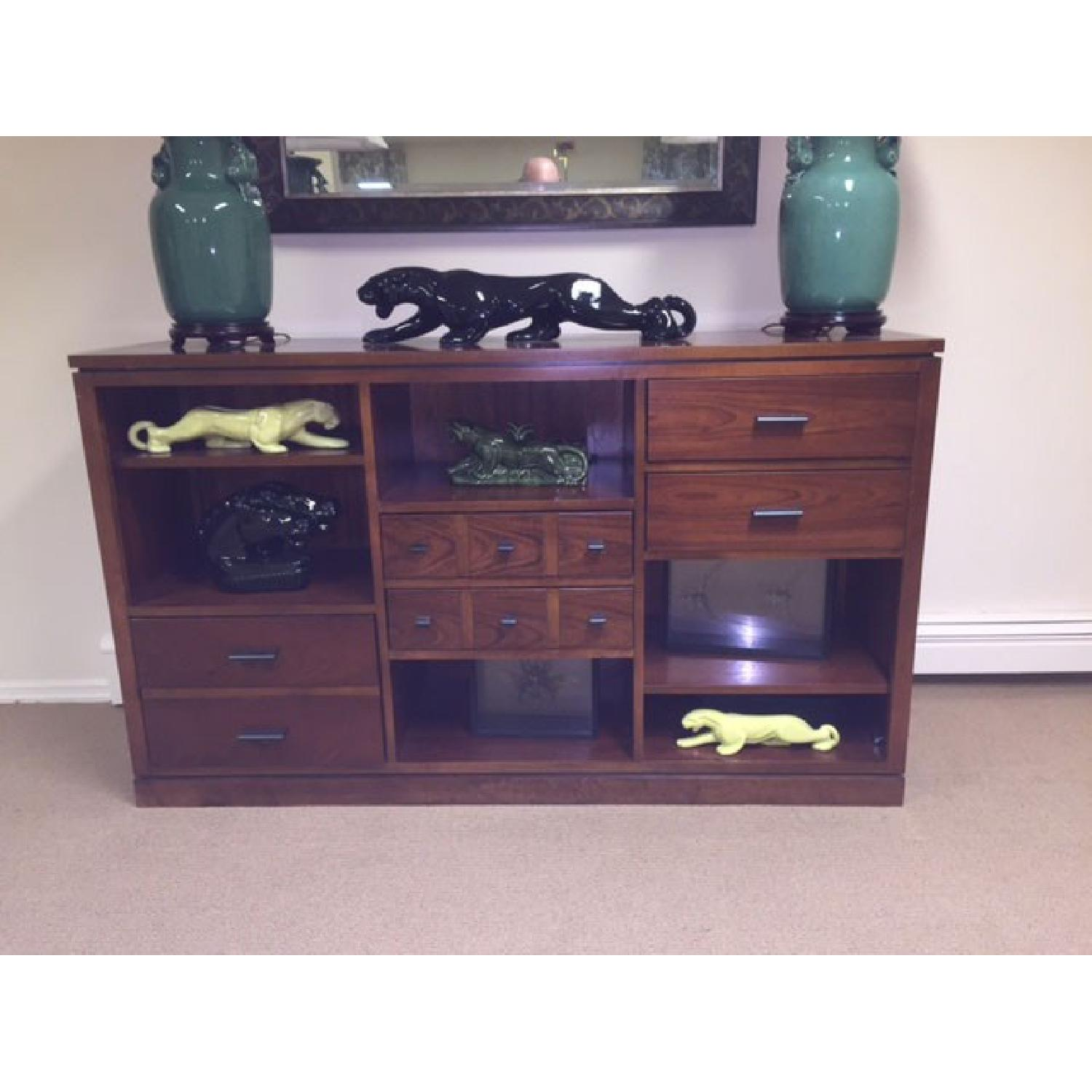 Stanley Furniture Bookcase with Drawer Unit - image-1