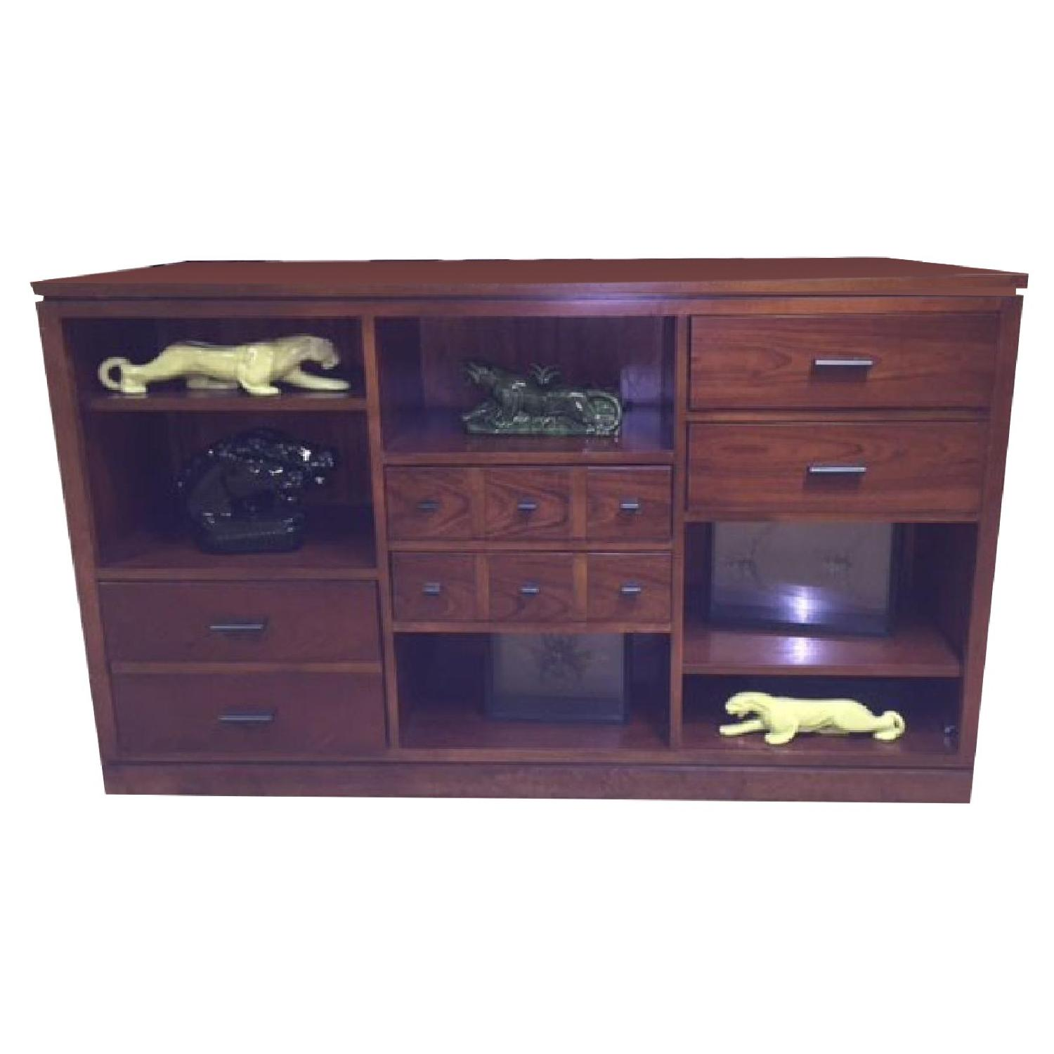 Stanley Furniture Bookcase with Drawer Unit - image-0