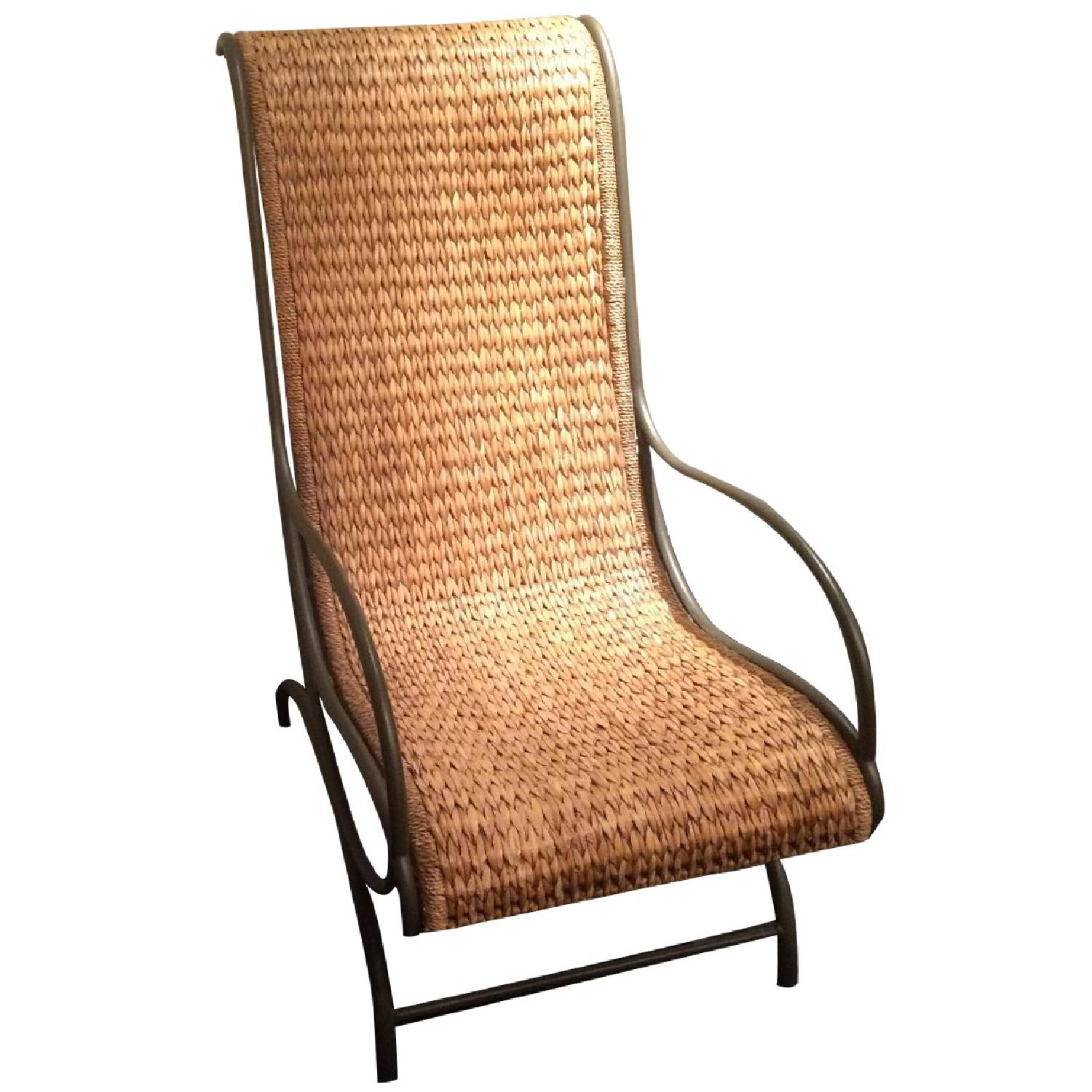 Wicker Chair - image-0