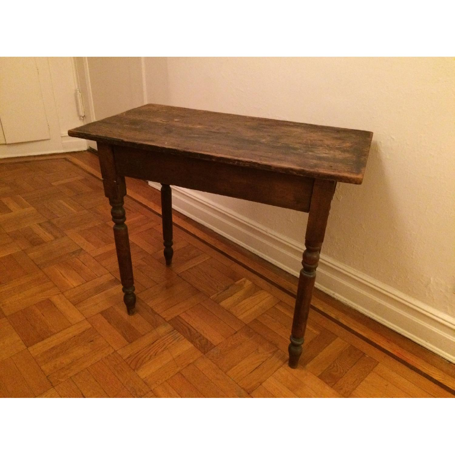 Antique Small Rustic Table - image-3