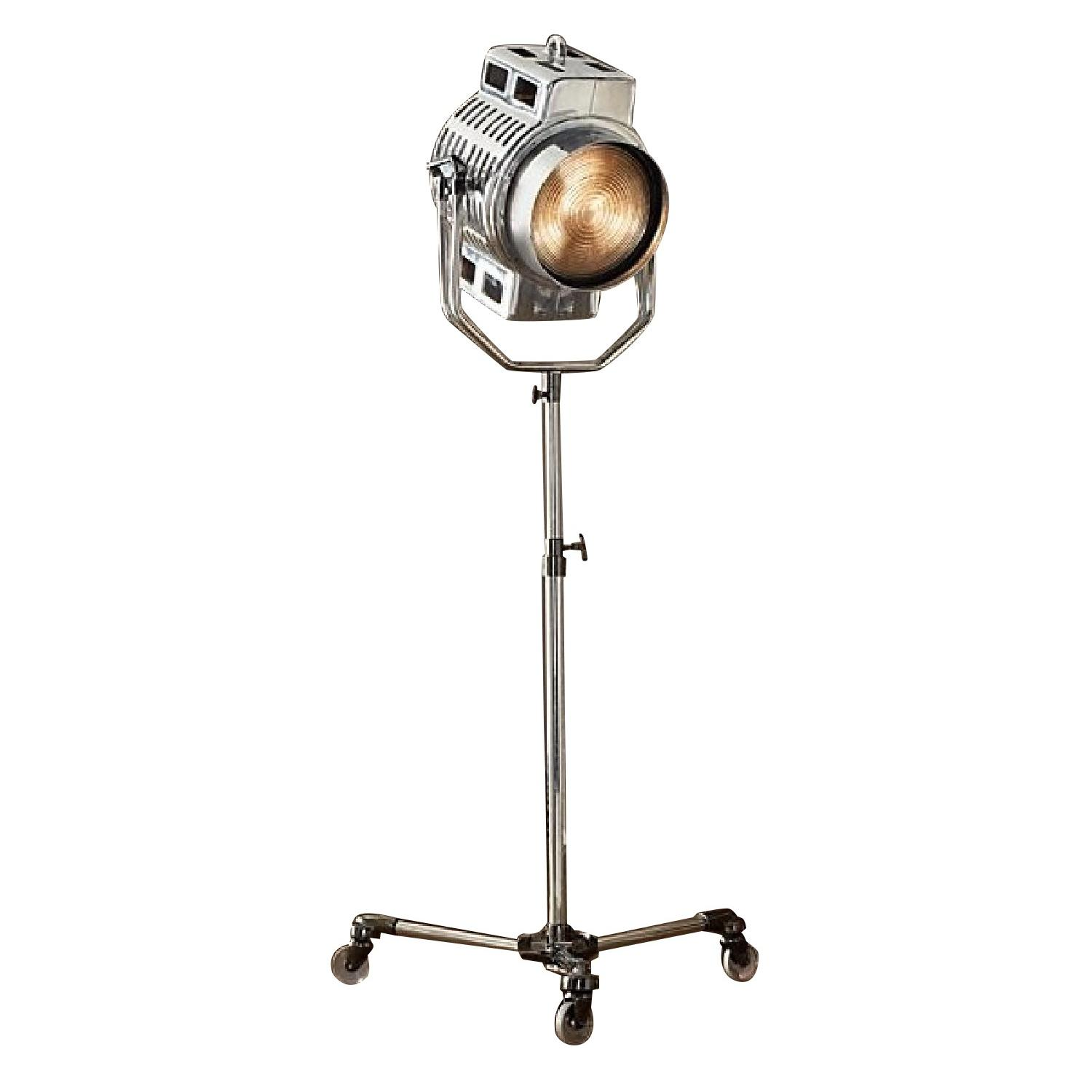 Restoration Hardware 1940s Hollywood Studio Floor Lamp - image-0
