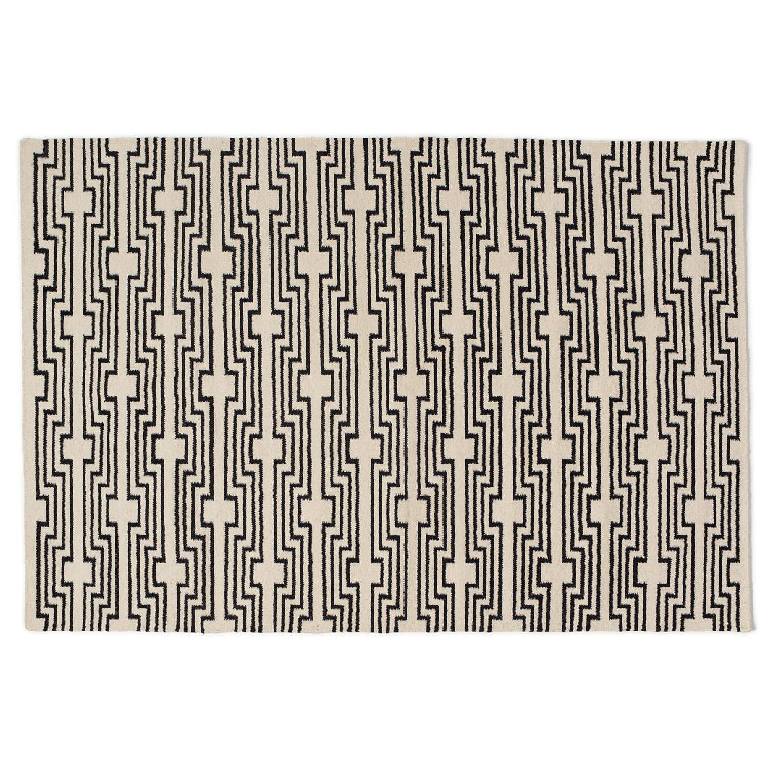 Aelfie Rug in Optik Black - image-0