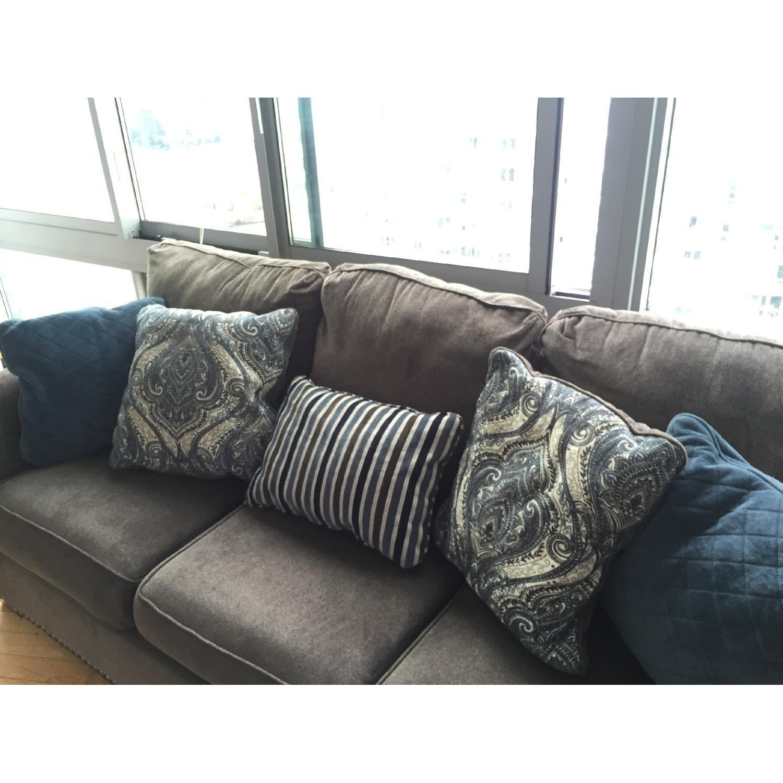 Raymour & Flanigan Queens Sleeper Sofa - image-2