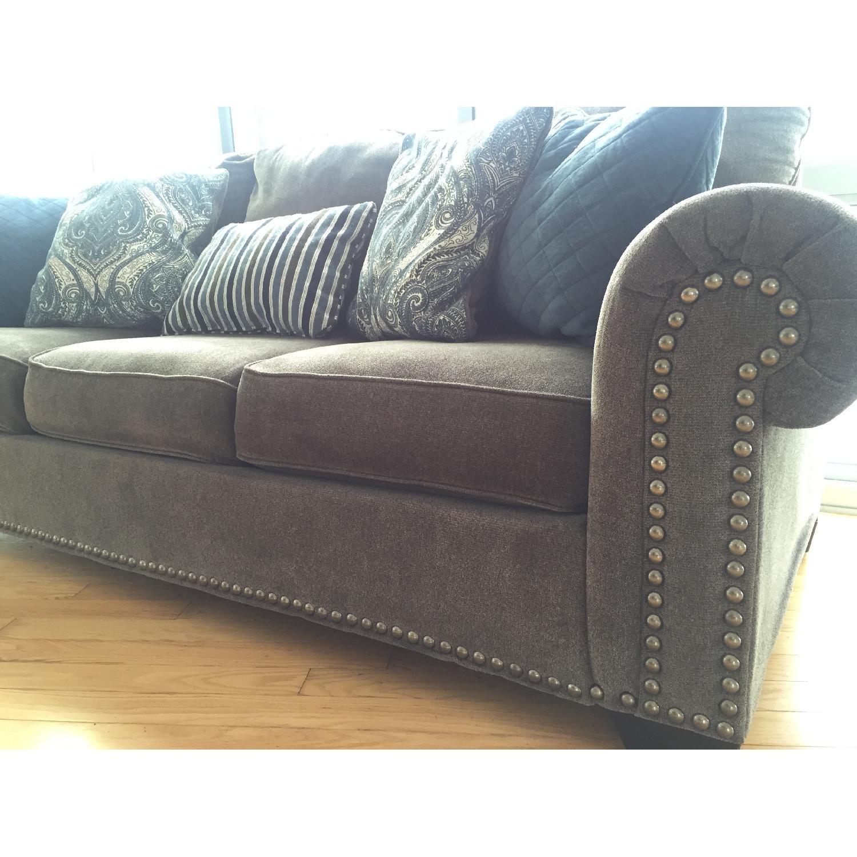 Raymour & Flanigan Queens Sleeper Sofa - image-3