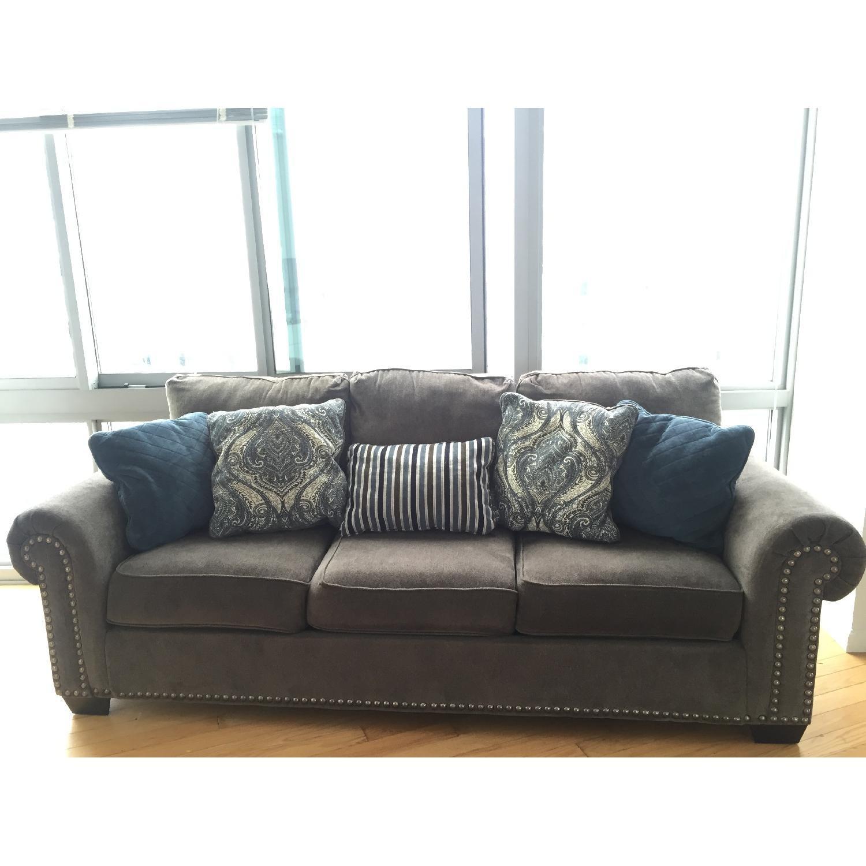Raymour & Flanigan Queens Sleeper Sofa - image-7